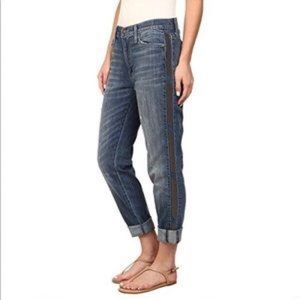 Hudson Jade Slouch Jeans w Studded Side Seam